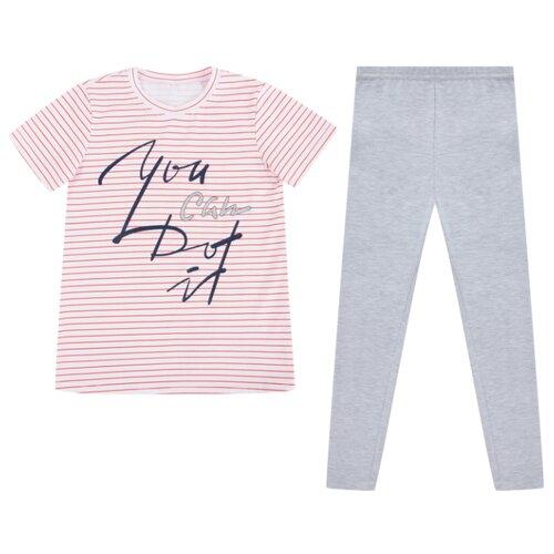 Купить Комплект одежды Leader Kids размер 134, белый, Комплекты и форма