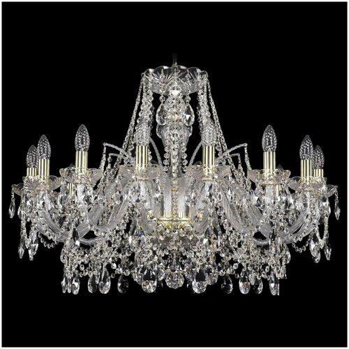 Фото - Люстра Bohemia Ivele Crystal 1411 1411/16/300/G, E14, 1080 Вт люстра bohemia ivele crystal 1411 1411 12 6 300 h 94 g e14 720 вт