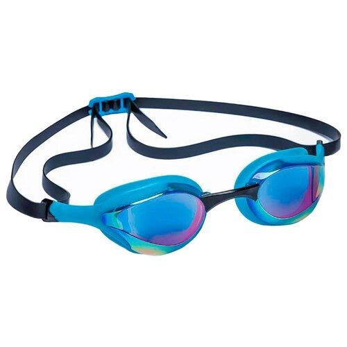 Очки для плавания MAD WAVE Alien Rainbow azure/black очки для плавания mad wave triathlon azure clear black