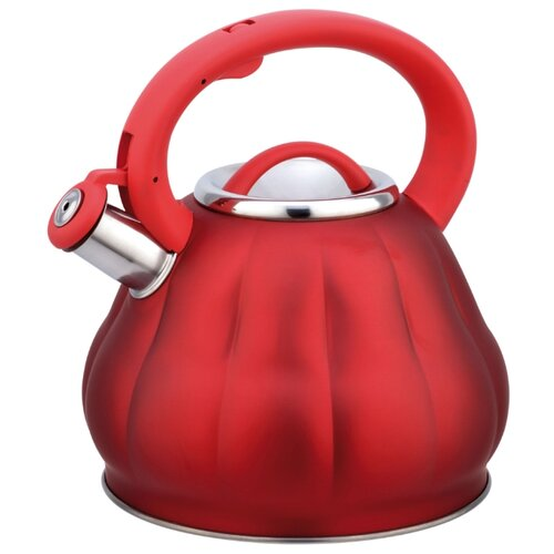 Bohmann Чайник BH-9914 3 л, red bohmann чайник bh 9911 3 л оранжевый