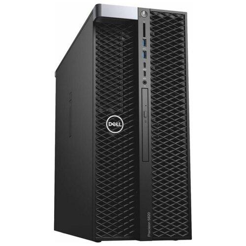 Рабочая станция DELL Precision Т5820 (5820-8024) Intel Core i9-10900X/16 ГБ/256 ГБ SSD+1 ТБ HDD/Linux черный