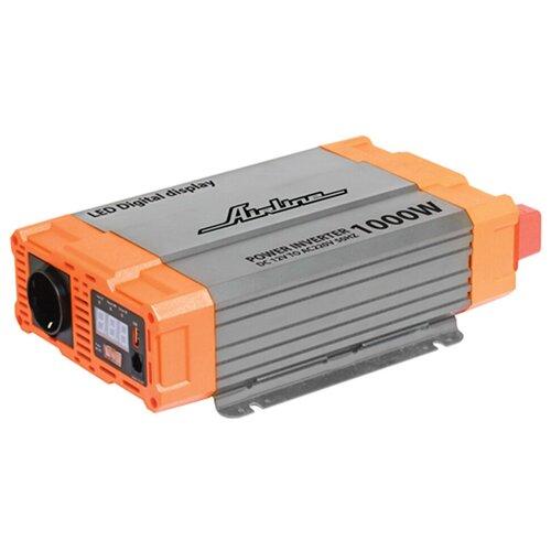 Фото - Инвертор Airline API-1000-07 серебристый/оранжевый автомобильный инвертор airline api 1000 07