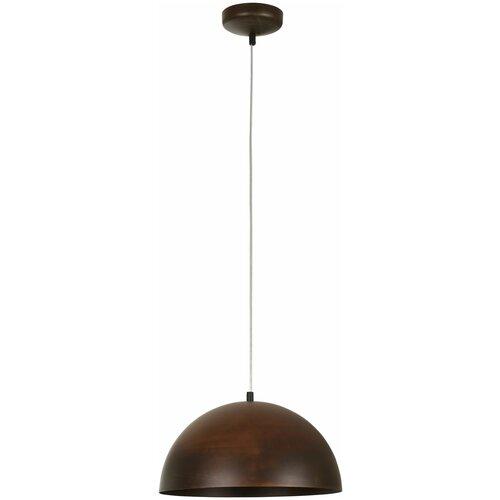 Потолочный светильник Nowodvorski Hemisphere Rust 6367, 60 Вт потолочный светильник nowodvorski hemisphere 4843 60 вт