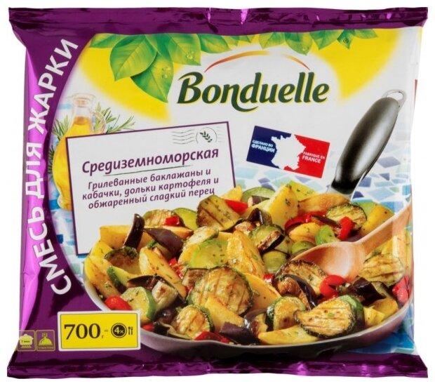 Bonduelle Замороженная овощная смесь Средиземноморская для жарки 700 г