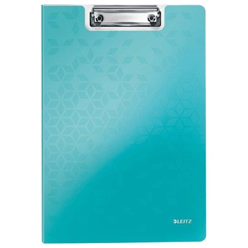Купить Leitz Папка-планшет с верхним прижимом WOW A4, полифом бирюзовый, Файлы и папки