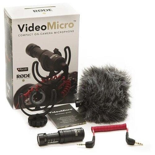 Фото - Накамерный микрофон RODE VideoMicro микрофон rode lavalier go white