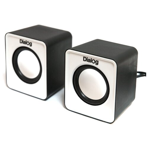 Компьютерная акустика Dialog AC-02UP black/white