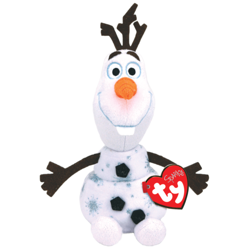Мягкая игрушка TY Снеговик Olaf 15 см
