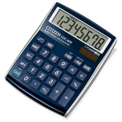 Калькулятор CITIZEN CDC-80 синий