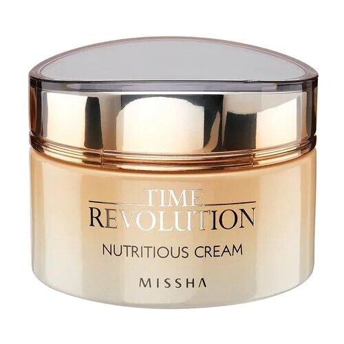 Missha Time Revolution Nutritious Cream Питательный крем для лица 50 мл