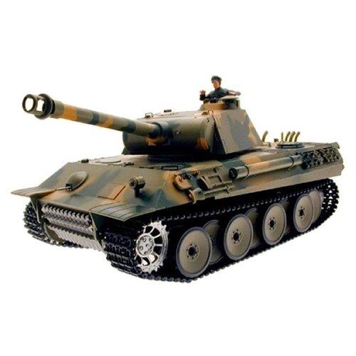 Танк Heng Long Panther (3819-1) 1:16 камуфляж