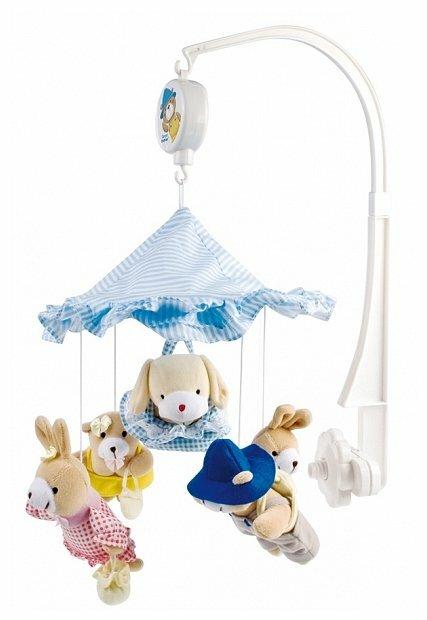 Механический мобиль Canpol Babies Зверушки под зонтиком (2/376)