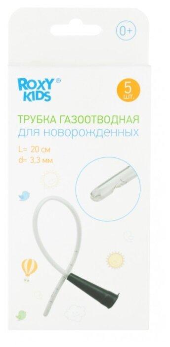 Трубка газоотводная ROXY-KIDS для новорожденных одноразовая L 20 см, d 3.3 мм, 5 шт.