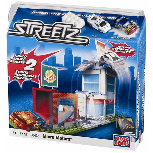 Конструктор Mega Bloks Streetz 96436 Микро-двигатели