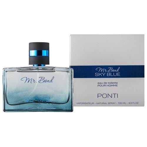 Купить Туалетная вода PontiParfum Mr. Bond Sky Blue, 85 мл