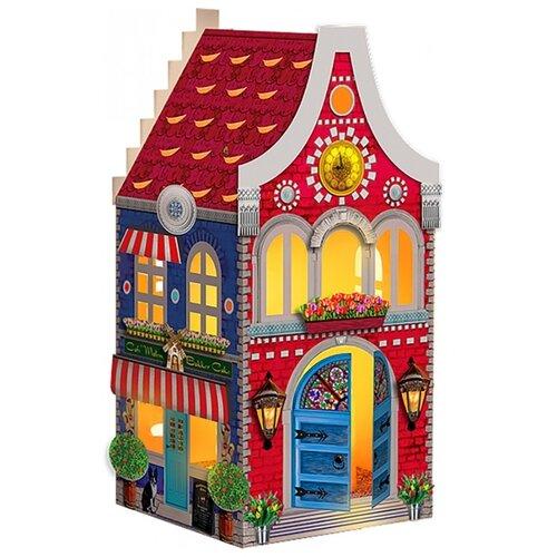 Сборная модель Клеvер фонарик-домик Страна тюльпанов (АБ 42-564) клеvер набор для творчества фонарик домик розовый вечер аб 42 565