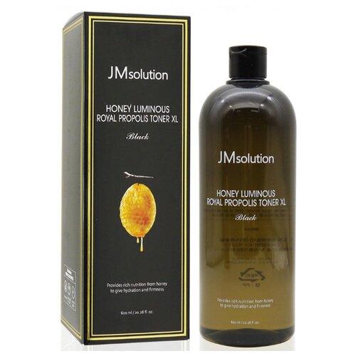 Купить JMsolution Увлажняющий тонер для лица с экстрактом прополиса Honey Luminous Royal Propolis Toner XL, 600 мл, JM Solution