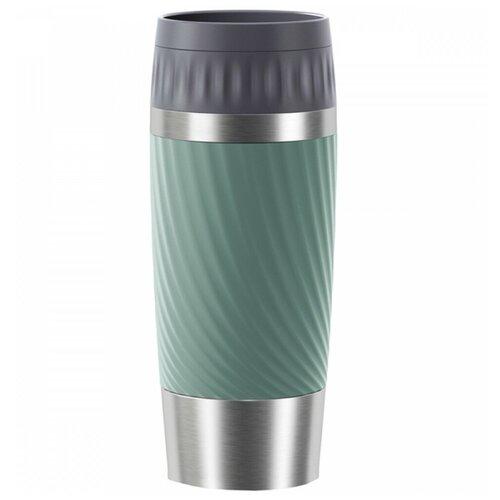 Фото - Термокружка EMSA Travel Mug Easy Twist, 0.36 л зеленый термокружка emsa travel mug grande 0 5 л красный