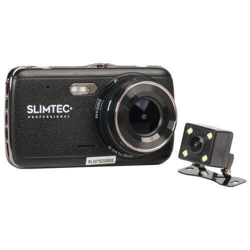 Фото - Видеорегистратор Slimtec Dual S2L, 2 камеры черный видеорегистратор зеркало slimtec dual m7