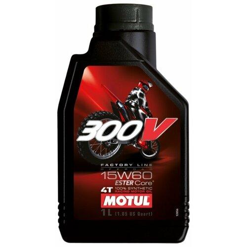 Фото - Синтетическое моторное масло Motul 300V Factory Line Off Road 15W60 1 л моторное масло motul 300v 4t fl road racing 5w 40 1 л
