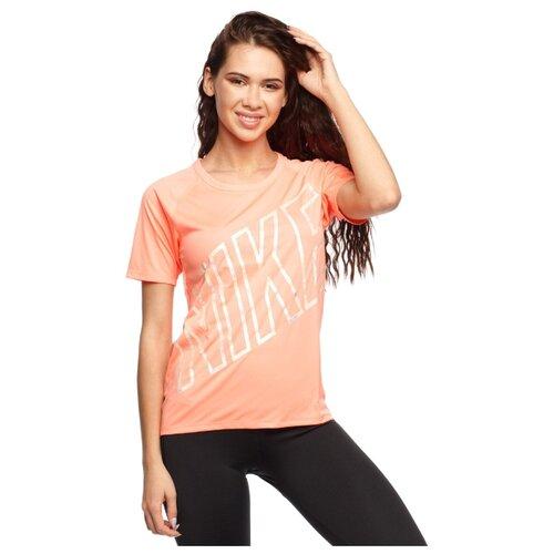 nike футболка для мальчиков nike futura размер 128 137 Футболка розовая Miller Nike, S