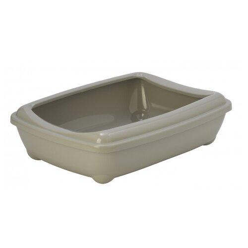Туалет-лоток для кошек Moderna Arist-O-Tray Large 49.5х37.8х13.5 см теплый серый