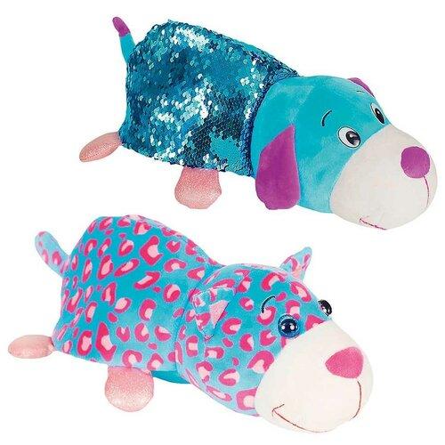 Купить Мягкая игрушка 1 TOY Вывернушка Блеск Котик-Щенок 30 см, Мягкие игрушки
