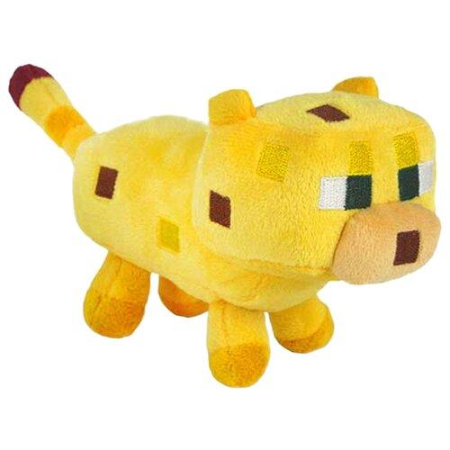 Мягкая игрушка Jazwares Minecraft Детеныш оцелота 18 см мягкая игрушка jinx minecraft детеныш волка 20 см