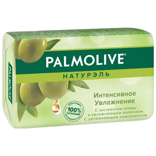Мыло кусковое Palmolive Натурэль Интенсивное увлажнение с экстрактом оливы и увлажняющим молочком, 90 г фото