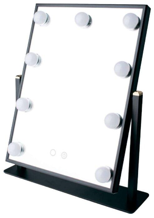 Зеркало косметическое настольное GESS uLike Maestro с подсветкой
