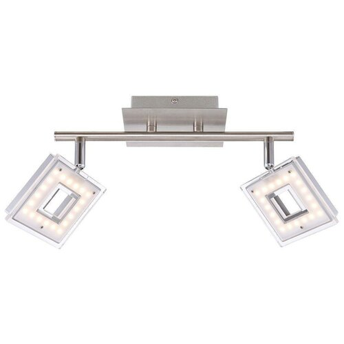 Потолочный светильник светодиодный Globo Lighting Kerstin 56138-2, LED, 8.4 Вт светильник светодиодный globo lighting paula 41605 20d led 20 вт
