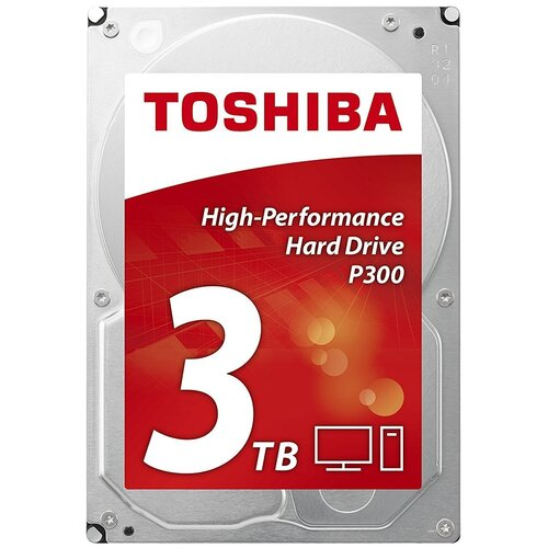 Фото - Жесткий диск Toshiba 3 TB HDWD130EZSTA жесткий диск toshiba 1 tb hdwd110uzsva
