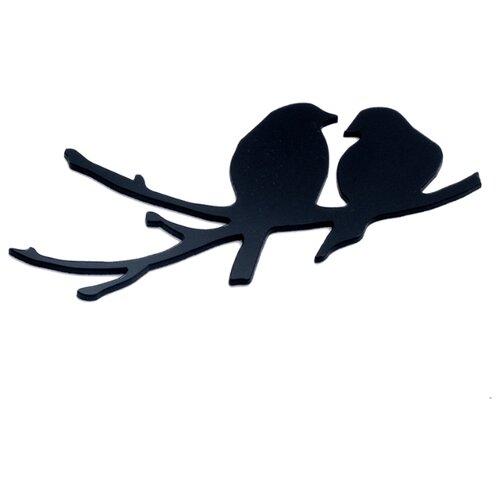 Наклейка на выключатель DS Studio Птичья пара, объемная наклейка