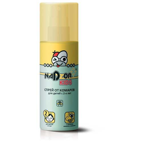 Спрей Nadzor от комаров для детей KIDS, 100 мл