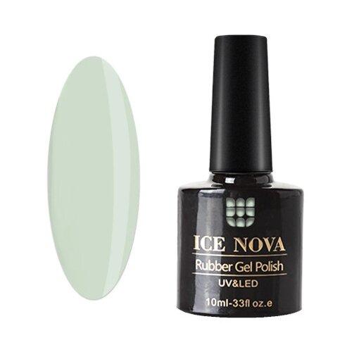 Купить Гель-лак для ногтей ICE NOVA Rubber Gel Polish, 10 мл, 204