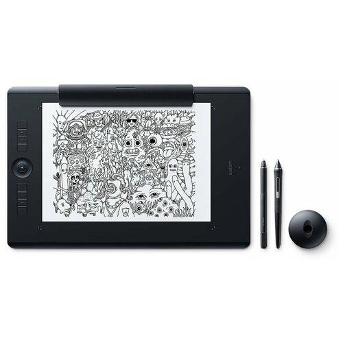 Графический планшет WACOM Intuos Pro Large Paper Edition (PTH-860P) + Corel Painter 2020 черный российская