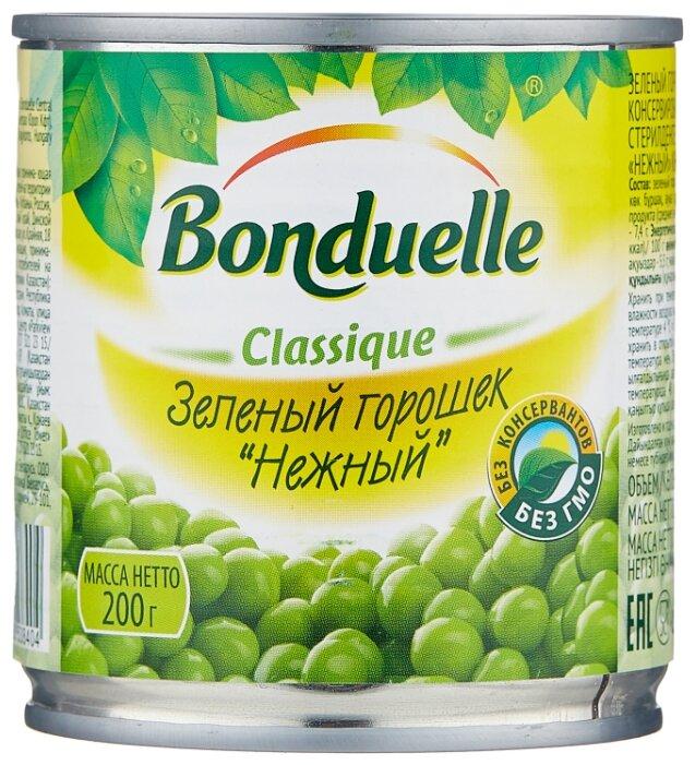Зеленый горошек Bonduelle Classique Нежный, жестяная банка 200 г