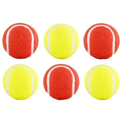 Фото - Набор игрушек для кошек Beeztees теннисный 6шт 625593 желтый / красный полесье набор игрушек для песочницы 468 цвет в ассортименте