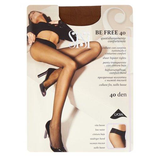 Фото - Колготки Sisi Be Free 40 den, размер 4-L, naturelle (коричневый) колготки sisi miss 40 den размер 4 l naturelle коричневый