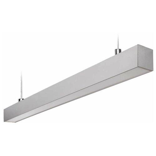 Светильник светодиодный Uniel ULO-K10D 60W/5000K/L120 IP65 SILVER, LED, 60 Вт светильник uniel подвесной светодиодный ul 00006447 ulo k20b 60w 5000k l150 ip65 white