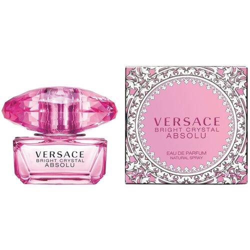 Парфюмерная вода Versace Bright Crystal Absolu, 50 мл versace gianni versace couture парфюмерная вода 100мл лимитированная версия