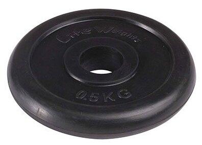 Диск Lite Weights RJ1030 0.5 кг черный