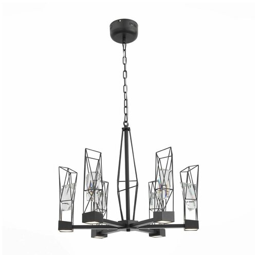 Люстра светодиодная ST Luce Progetto SL815.303.06, LED, 48 Вт люстра светодиодная st luce piazza sl945 403 03 led 137 вт