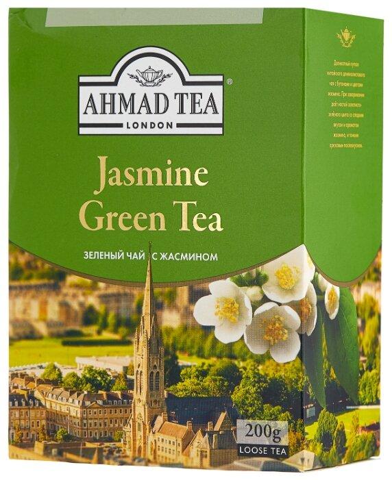 Купить Чай зеленый Ahmad tea Jasmine, 200 г по низкой цене с доставкой из Яндекс.Маркета (бывший Беру)