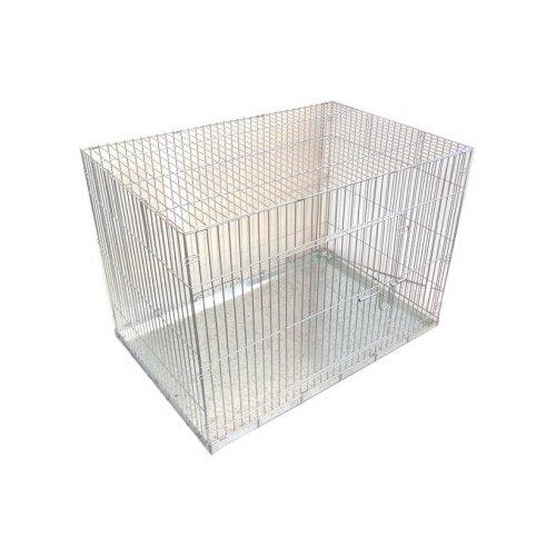 Клетка для собак Данко КлС-5 90х60х60 см серый