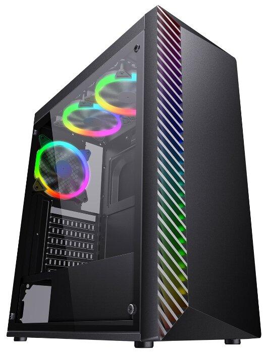 Компьютерный корпус Formula Light-05 w/o PSU Black — купить по выгодной цене на Яндекс.Маркете