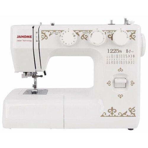 Швейная машина Janome 1225S, белый