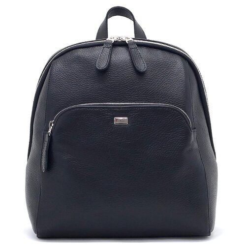 Рюкзак Solo 15, натуральная кожа, черный рюкзак solo solo mp002xw1h56n