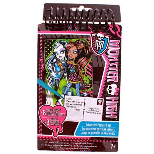 Купить Игровой набор Fashion Angels Бархатных открытки. Школа монстров, Раскраски