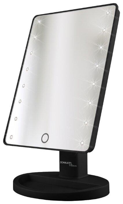 Зеркало косметическое настольное Scarlett SC-MM308L05 с подсветкой